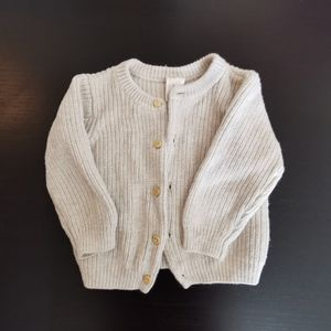 Sweater h&m organic cotton Size 6-9 M